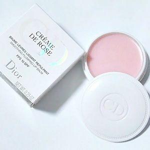 Dior Creme De Rose Lip Balm New/In Box.
